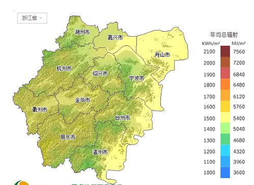 能资源分布地图集锦