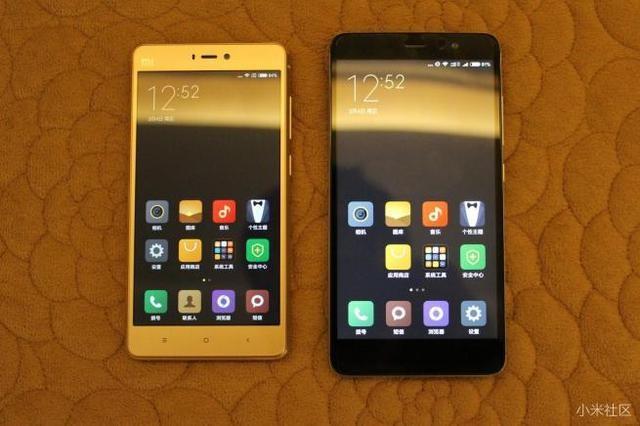 红米Note3全网通与小米4S对比评测:天马屏不及夏普屏?