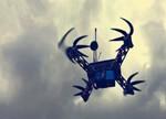 世界首架3D打印铝制FPV竞速无人机 时速90迈