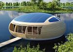 【酷图欣赏】美轮美奂的太阳能浮动建筑