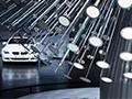 住在宝马汽车博物馆的灯光艺术(图)
