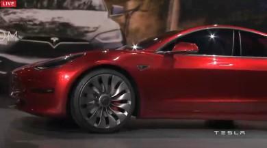 特斯拉Model 3     红