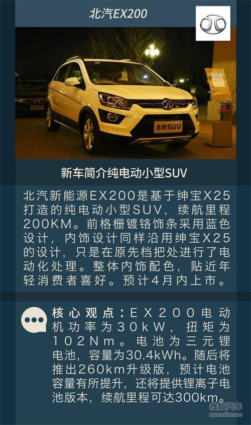 比亚迪元/iev6s等 4月上市新能源车型汇总
