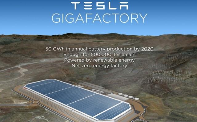 特斯拉超级工厂进行竞标项目 寻求锂离子供应商
