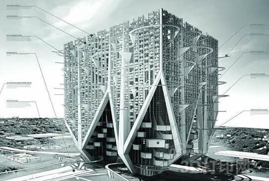 """建筑接受""""私人订制"""" 3D打印别墅再掀波澜"""