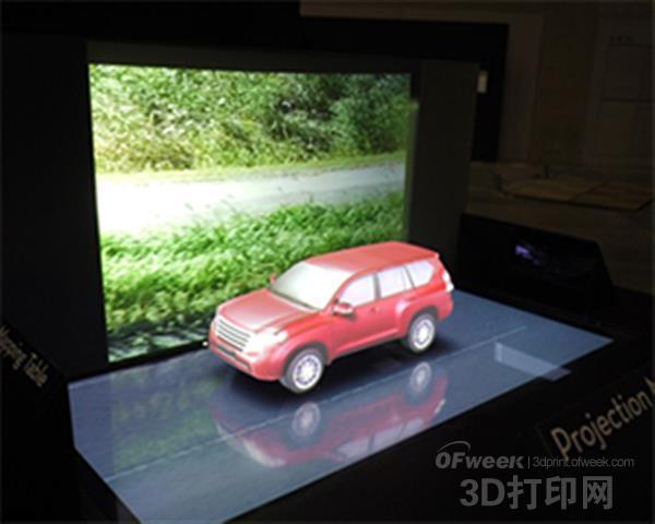 日本FORUM8研发出3D打印全息投影映射系统