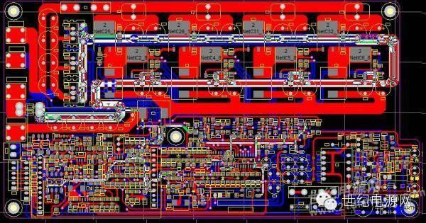 其中,llc本级为软开关,脉冲电流较温柔,且有c12为本级输入滤波
