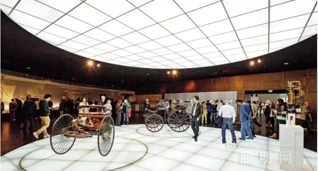 德国奔驰博物馆灯光解析