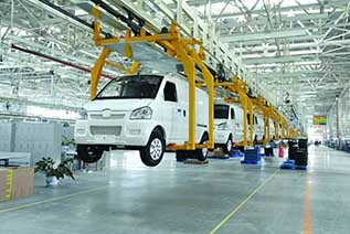 电动汽车加快发展 千亿产业链落户青岛莱西