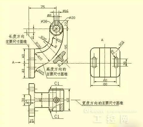 干机械设计不可缺少的资料:常用零件画法及尺寸标注