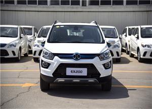 北汽EX200纯电动SUV静态测评 仅比EV200贵了一点点