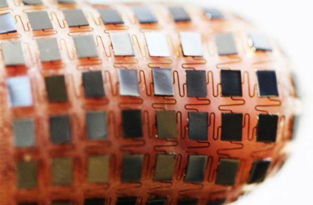 柔性太阳能电池已研发 解决可穿戴设备充电问题