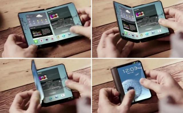三星可折叠手机或与2017年发布 轻巧便携颜值高