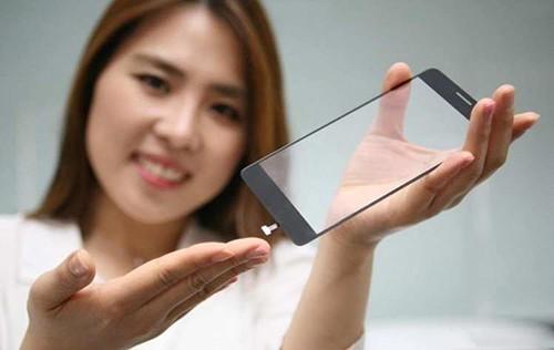 LG新手机屏幕玻璃元件支持全屏指纹识别