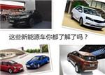 这些纯电动/混动汽车你了解了吗?