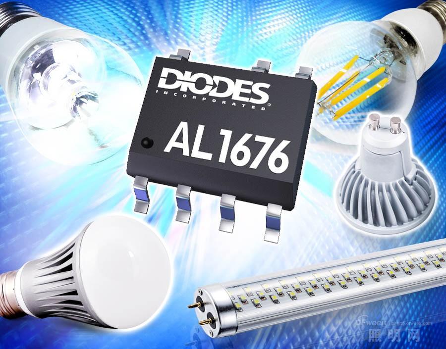 Diodes推出高功率因数LED驱动器