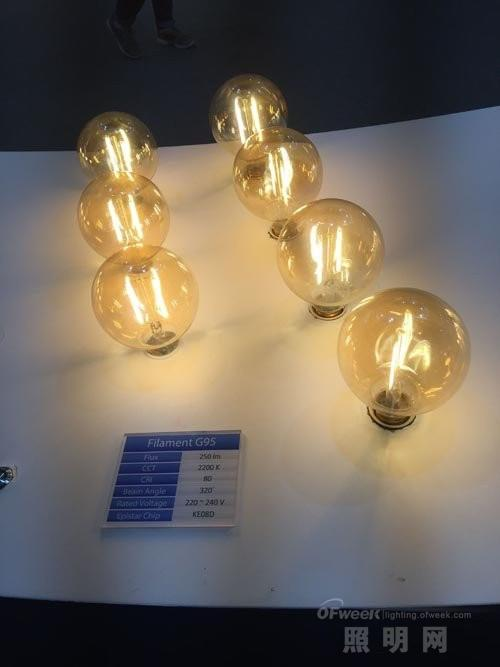 从光亚展看LED灯丝灯五大发展趋势