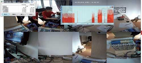 海康威视DS-2DP1636-D全景网络高清半球摄像机