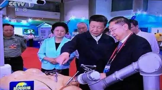 习近平给骨科手术机器人点赞