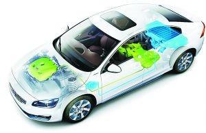 我国新能源车集中亮相 电池性能仍是短板