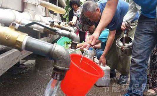 池水与饮用水现倒灌