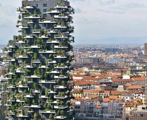 意大利垂直森林大楼:会呼吸的建筑