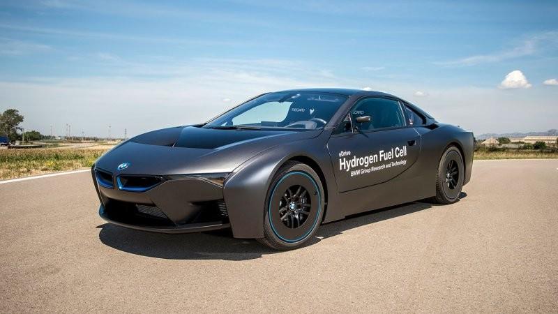 宝马i8改版变纯电动车图片
