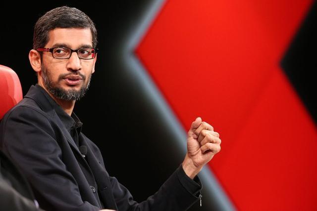 谷歌首席执行官Sudai Pichai