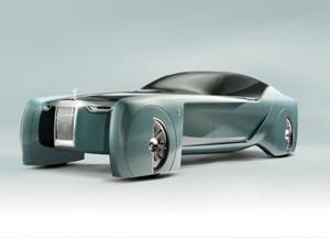 劳斯莱斯首款自动驾驶概念车曝光(图)