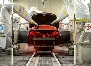 机器人技术:用裙边胶机器人涂装SUV遇到的问题和解决方案