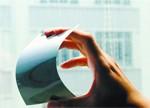 """柔性显示是未来 全球首款石墨烯电子纸""""广州造"""""""