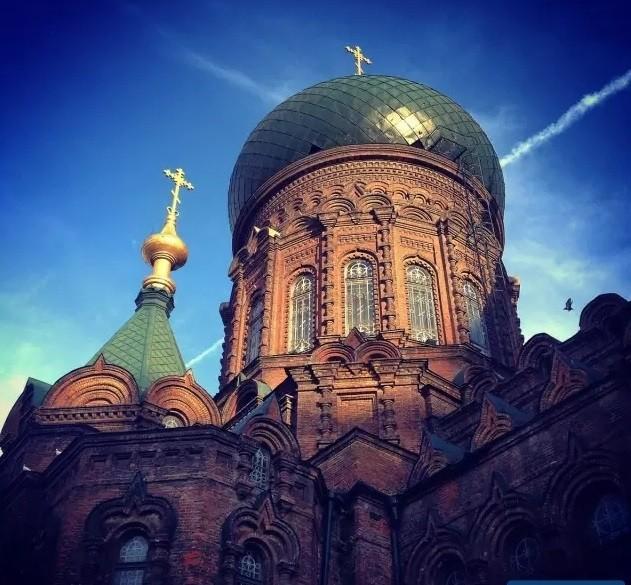 哈尔滨地标建筑-索菲亚教堂
