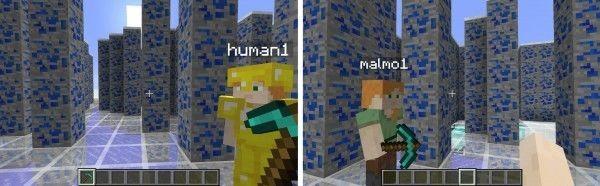 微软Minecraft成人类和AI协同工作的试验平台