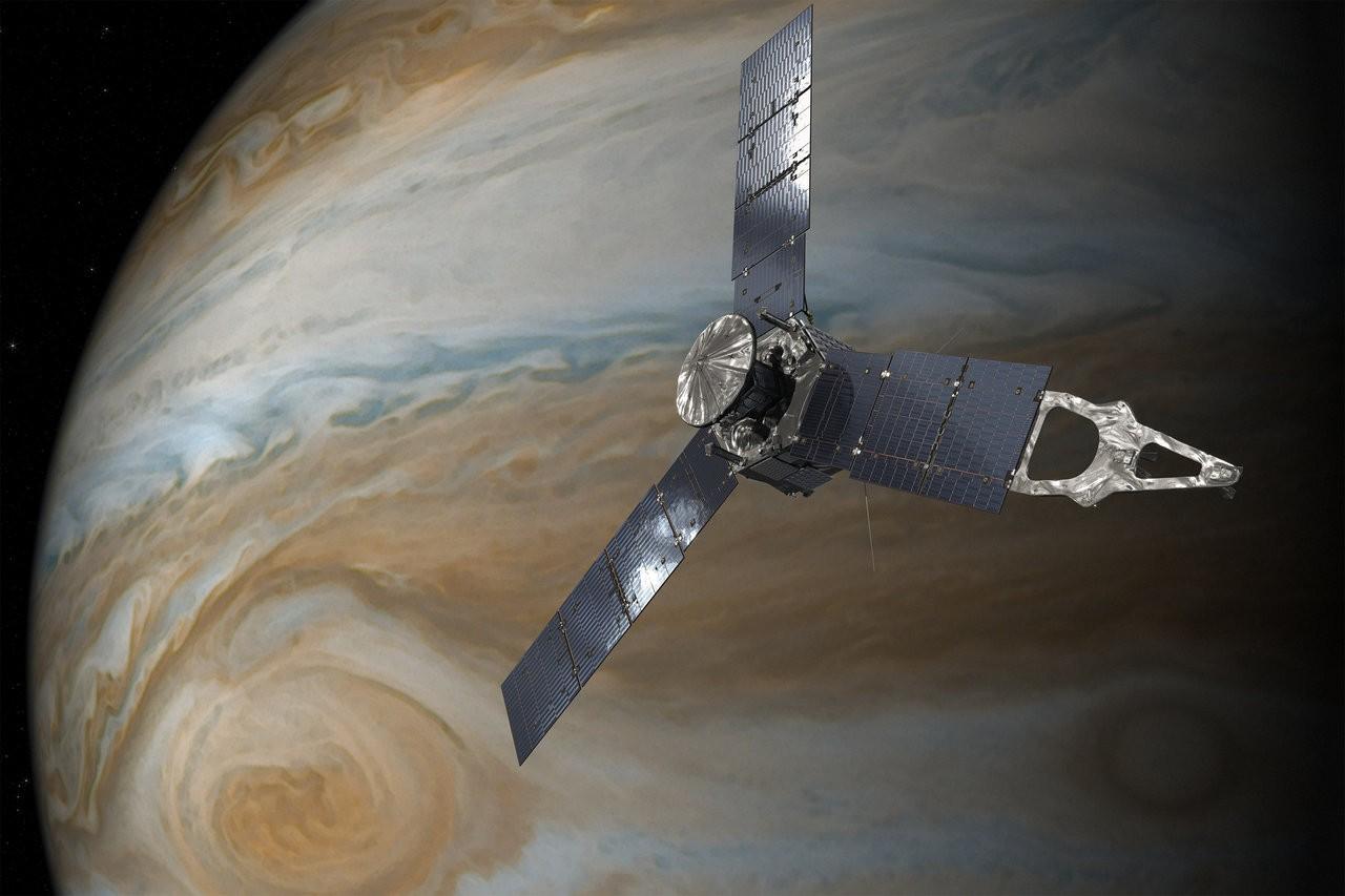 朱诺号切入木星轨道 hololens就这样让你跨过13亿公里