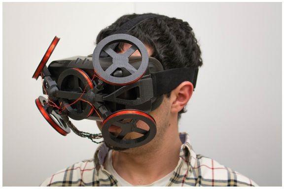 目光接触——眼睛巩膜线圈追踪虚拟现实