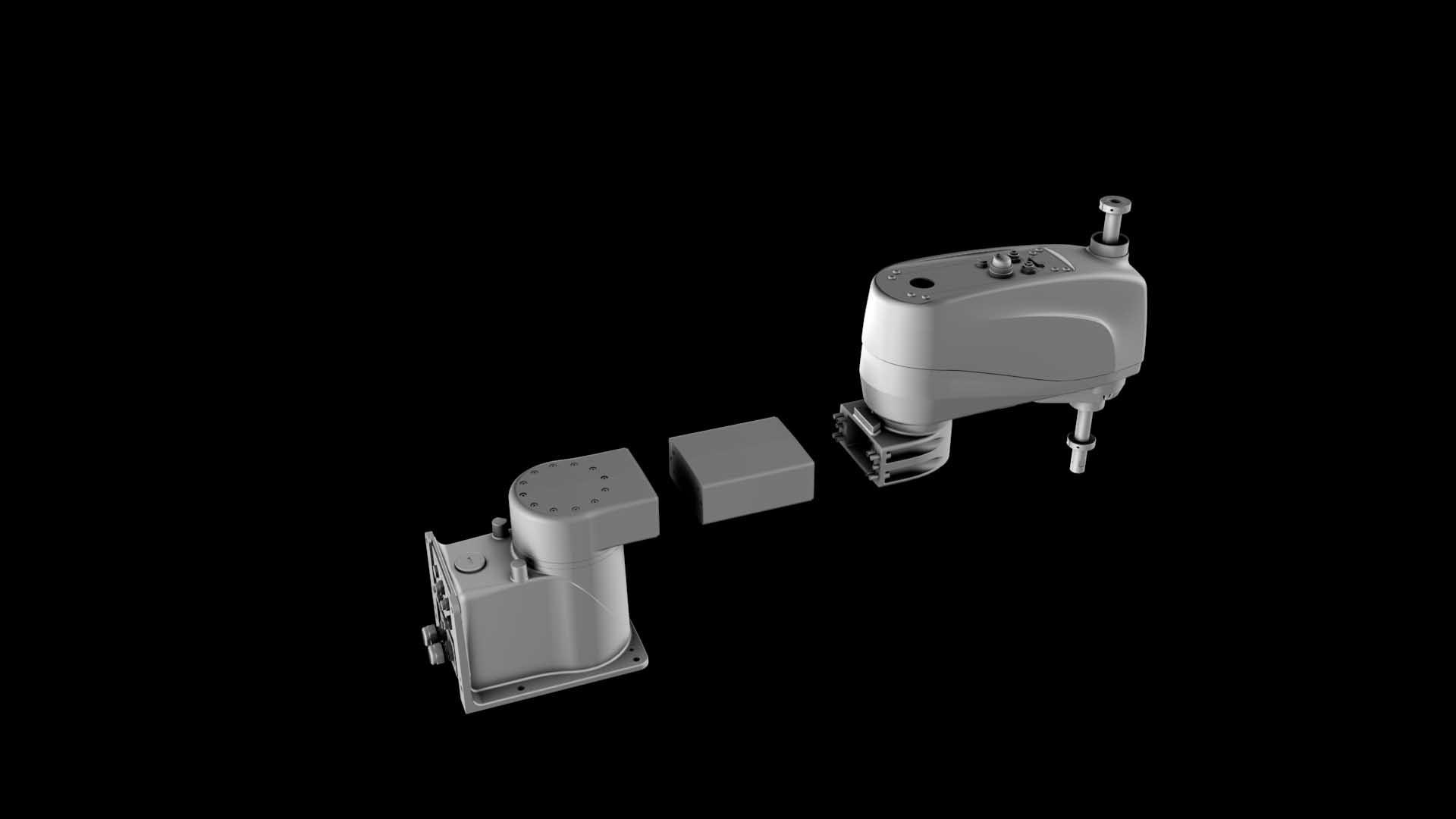 买一得五--柯马模块化概念   机器人工作半径的差异由于模块化延长臂的存在,它使机器人根据需要扩展可达性。由缆线和延长臂组成的扩展组件,在这5个型号的机器人中可以轻松实现互换。买一得五--这就是柯马模块化概念提供的优势。这种模块化特性使得即时配置机器人成为可能,也就是说,购买SCARA系列机器人可以为客户节省大量成本和时间。