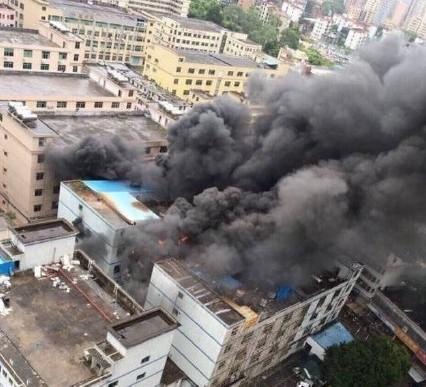深圳美拜电子四个月内两度起火 燃爆物为锂电池