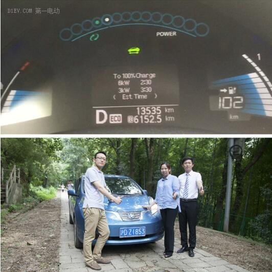 【实测】启辰晨风下山蓄电池能量回收