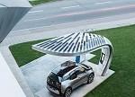【前沿】太阳能充电站概念版推出 电动汽车也能跑长途