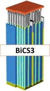 西数64层3D NAND内存技术BiCS3