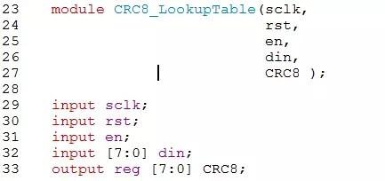 CRC循环冗余校验的原理与算法及FPGA实现