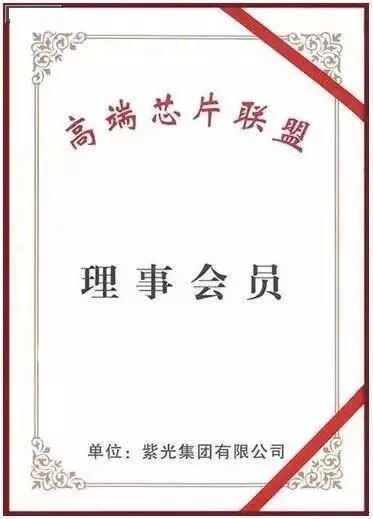 紫光集团董事长赵伟国当选联盟副理事长