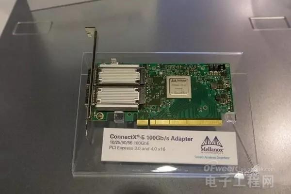 mellanox 100gb网卡使用了pci-e