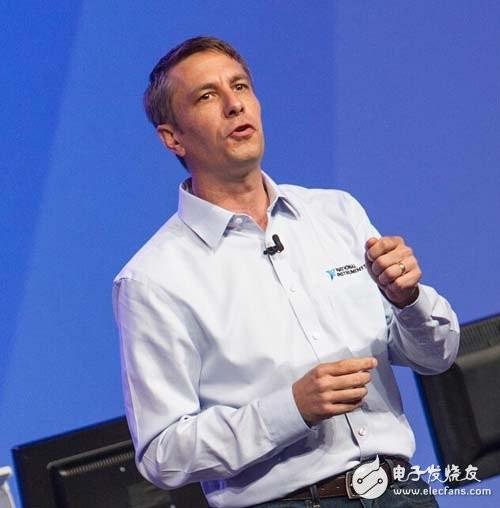 NI负责全球销售和市场营销的执行副总裁Eric Starkloff