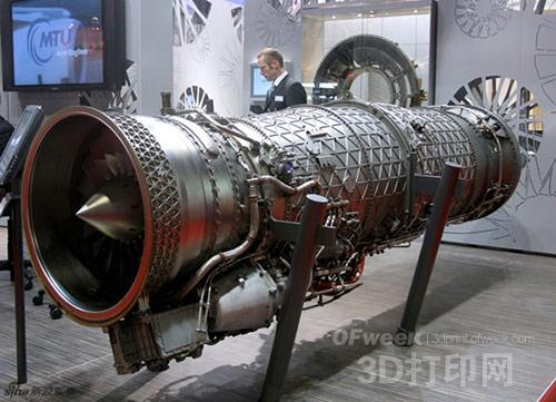 德国mtu在航空发动机业务上力推3d打印技术