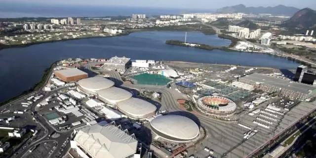 鳥瞰2016年里約奧運會場館