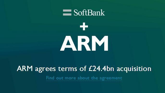近日消息!9月5日后ARM可能就是软银的了