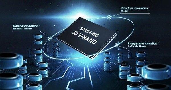 三星已实现64层晶粒立体堆叠V-NAND 3D闪存