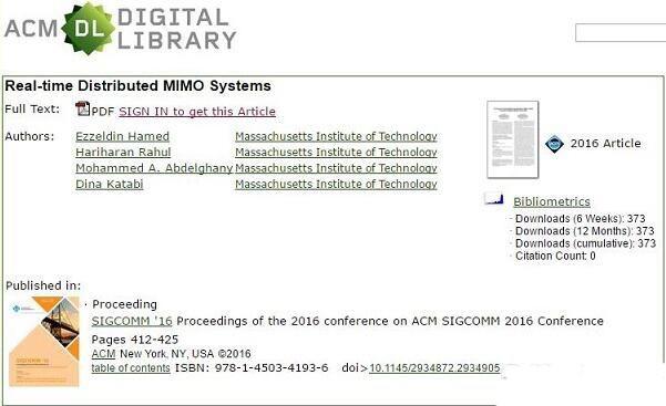 麻省理工MegaMIMO系统让免费Wi-Fi提速10倍!