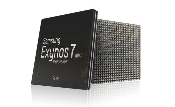 三星宣布14纳米Exynos 7570处理器量产:性能较28纳米工艺提升70%